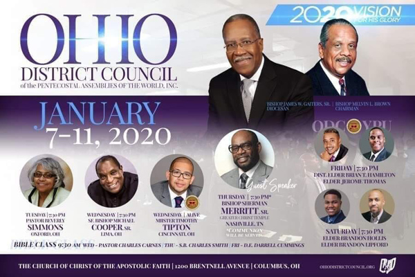 Ohio District Council January 2020