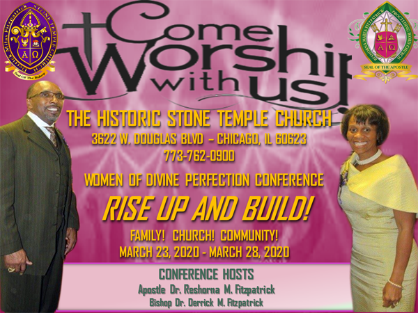 Stone Temple Church Women of Divine Perfection Conference 2020
