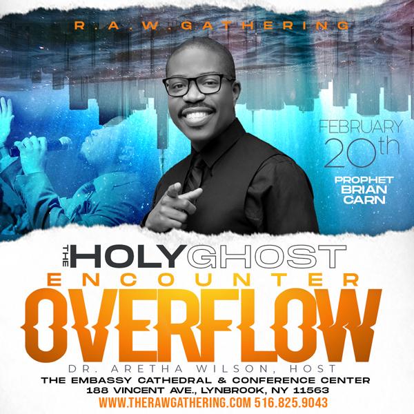 RAW Overflow ft Prophet Brian Carn Feb 2020