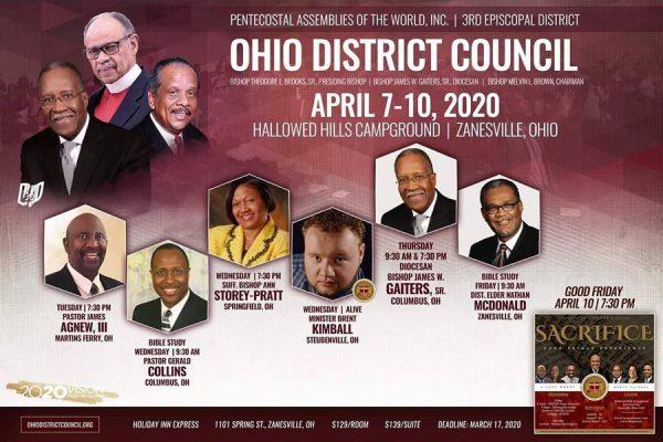 Ohio District Council PAW April 2020